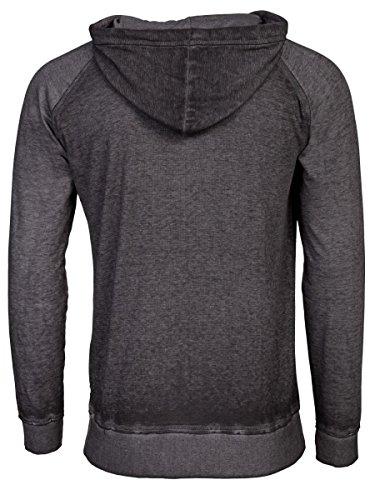 TREVOR'S KOLJA Herren Hoodie aus Baumwolle und Polyester - soziale fair trade Kleidung, Mode vegan und nachhaltig Color black, Size XL - 2