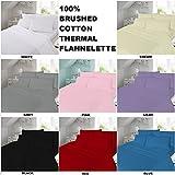 100% Brushed Cotton Flannelette Sheet Set - Best Reviews Guide