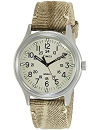 Timex MK1 Analog Off-White Dial Men's Watch-TW2R68000