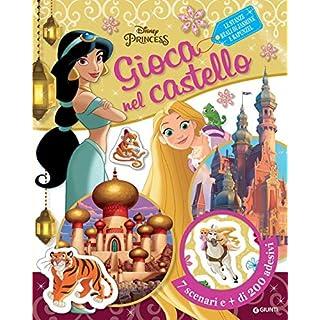 Walt Disney - Le Stanze Reali Di Jasmine E Rapunzel. Disney Princess. Gioca Nel Castello. Con Adesiv