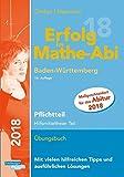 Erfolg im Mathe-Abi 2018 Pflichtteil Baden-Württemberg: mit der Original Mathe-Mind-Map