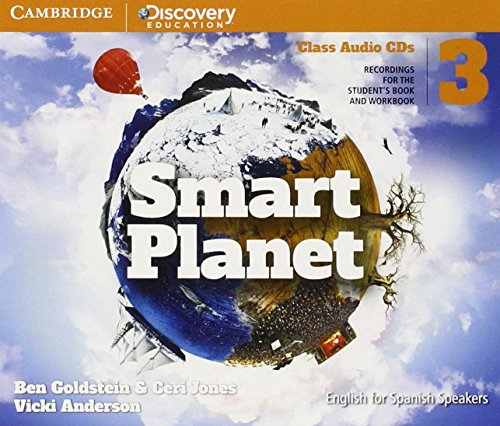 Smart Planet Level 3 Class Audio CDs (4) - 9788490363812