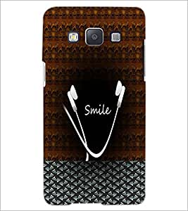 PrintDhaba Smile D-5989 Back Case Cover for SAMSUNG GALAXY A5 (Multi-Coloured)