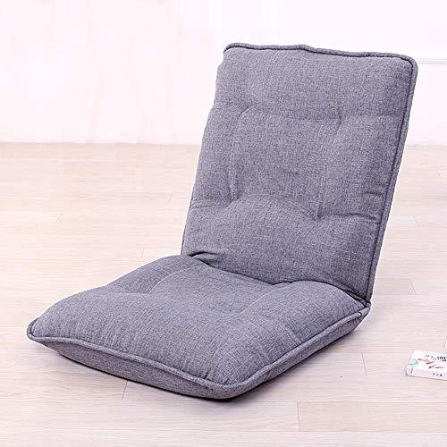 Oevina Lounge Schlafsofa Faltbare Verstellbare Liege Sleeper Futon Matratze Seat Chair Gaming Chair (Color : Gray) - Schlafsofa-mechanismus