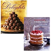 William Curley and Bronte Aurell's 2 Cook Books Collection Set (Nostalgic Delights, ScandiKitchen)