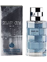 Real Time Eau de Toilette pour Homme Silver City Man 100 ml