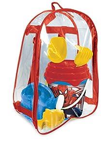 Marvel 28.191,0 - Cubo de Ultimate Spiderman septiembre para Mochila Accesorios de Playa, de diámetro 17 cm