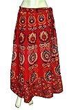 Printed Indian Long Skirt Wrap Around Sk...