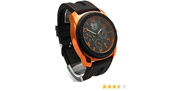 Crosshatch CRS31 C Men s Quartz Watch with Black Dial Analogue Display and  Black Silicone Strap CRS31 C  Amazon.co.uk  Watches 1bc0f37664e