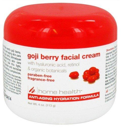 Home Health - Crema Facial de la baya de Goji - 4 oz.