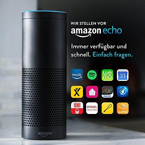 Amazon Echo, Schwarz - 2