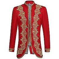 Da uomo elegante Casual Vestito Tuta aderente elegante Blazer Cappotti Giacche e Gilet e pantaloni