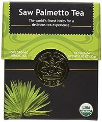 Saw Palmetto Tea - Organic Herbs - 18 Bleach Free Tea Bags