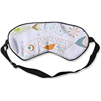 Comfortable Sleep Eyes Masks Tropical Fish Printed Sleeping Mask For Travelling, Night Noon Nap, Mediation Or... preisvergleich bei billige-tabletten.eu