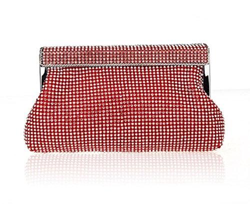 Strass borsa/Borsa di moda cena/Cena clutch bag-A A