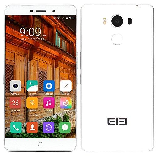 Elephone P9000 4G LTE Smartphone Android 6.0 (5,5 Zoll 1.6mm Ultra Narrow OGS-Bildschirm, Fingerabdruck Unlock) Octa-Core MTK6755 2.0GHz 4GB RAM 32GB ROM, 8MP 13MP, Typ-C, 5G WIFI