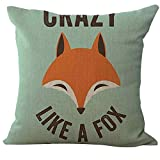 Yvelands Fox Print Sofa Bed Home Decoration Kissenbezug Kissenbezug