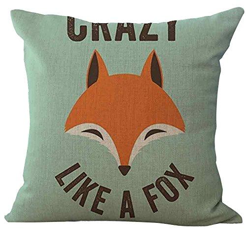 Yvelands Fox Print Sofa Bed Home Decoration Kissenbezug Kissenbezug