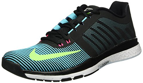 Nike Zoom Speed TR3, Chaussures de Gymnastique Homme Multicolore (Black/Gamma Blue/Hyper Pink/Electric Green)