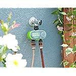 Royal Gardineer Bewässerungsuhr: Digitaler Bewässerungscomputer BWC-200 mit 2 Anschlüssen (Digitale Bewässerungsuhr)