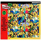 The Simpson's Group Impossipuzzle Jigsaw 550pc
