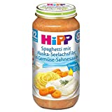 Hipp Menü Spaghetti mit Alaska Seelachsfilet 250g