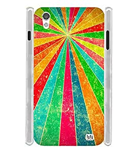 Vintage Pattern Soft Silicon Rubberized Back Case Cover for InFocus M370