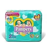 Pampers Baby Dry Mini, 31 Pannolini, Taglia 2 (3-6 kg)