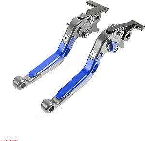Cnc Kupplung Bremshebelsets Klappbar Ausziehbar Für Honda Cb650f Cb 650 F Cbr650f Cbr 650 F 2014 2018 Blau Auto