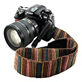 Bailsy Camera Strap Bohemia Shoulder Neck Universal Camcorder Belt Strap for All DSLR Camera Nikon Canon Sony Olympus Samsung Pentax Fujifilm colorful
