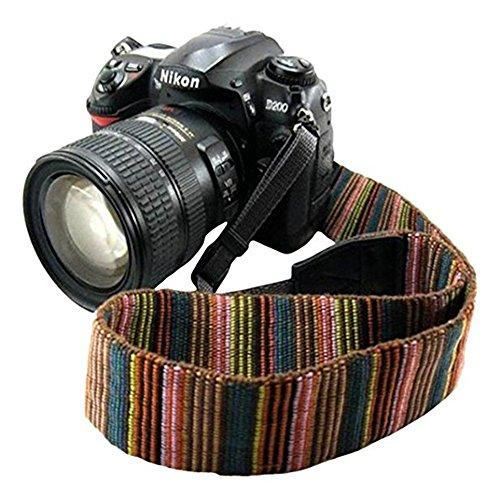 a75c9b0188 Universale tracolla fotocamera morbida durevole bohemia vintage spalla  cinghia reflex per DSLR Nikon Canon Sony Olympus