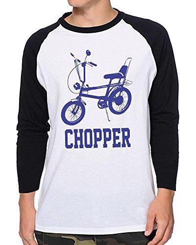 Raleigh Chopper Baseball Shirt - 100% Cotton - Small to XXL - 4 Colours