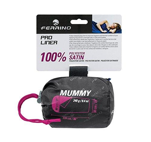 Ferrino SLEEPINGBAG LENZUOLO Pro Liner Mummy Saco