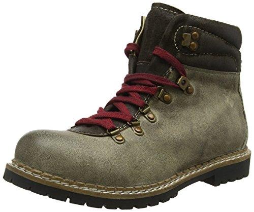 Spieth & Wensky Herren 550 H Jarrek Combat Boots, Beige (Whisky 5040), 42 EU