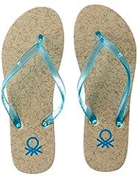 United Colors Of Benetton Women's Flip-Flops And House Slippers - B01N5V3XS2