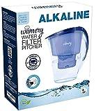 Wamery Jarra con Filtro de Agua alcalina ionizada 1.5 litro Aumenta el Nivel del ph del Agua de Grifo Incluye Filtro Gratis.