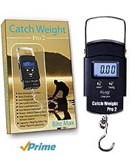 Catch Weight Pro 2, Báscula Portátil Digital Para Pesca – Te Presentamos Catch Weight Pro 2- ¡Lo Último En Tecnología Digital En Básculas De Mano Para Pesca! De Diseño Compacto, Esta Sencilla Báscula Fácil De Usar Te Muestra El Peso En Libras, Onzas Y Kilogramos, En Una Pantalla LCD Retroiluminada. Su Revolucionario Sistema Con Sensor De Calibración De Alta Precisión Proporciona Lecturas 100% Exactas A La Primera, Cada Vez Que Se Utiliza. Es Ideal Para La Pesca Diaria Y Nocturna. Es Un Excelente Accesorio Para Tu Equipo De Pesca. ¡Garantía GRATUITA De 12 Meses!
