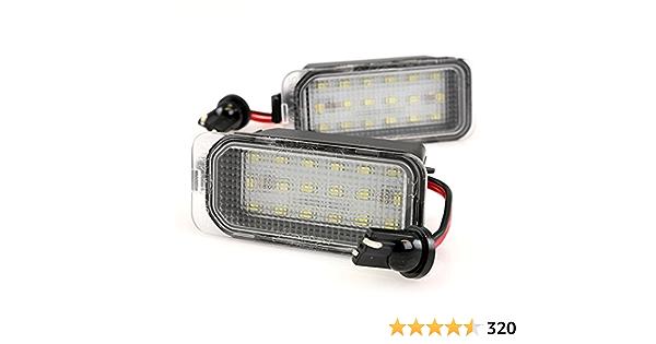 Lightdelux Led Kennzeichenbeleuchtung Mit Zulassung Canbus Plug Play V 030706 Auto