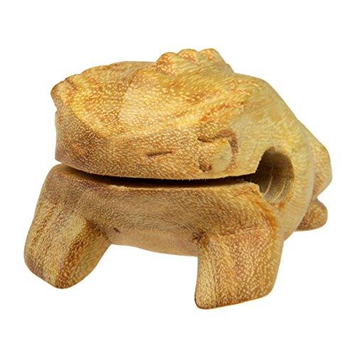 Schnauzer Percussion Sound Frog 6cm Wooden Guiro Percussion