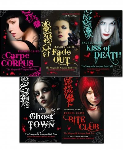 Morganville Vampires, Series 2 By Rachel Caine 5 Books Collection Set (Carpe Corpus, Fade Out, Kiss of Death, Ghost Town, Bite Club)