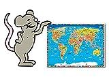 Pequeña almohadilla de escritura, alfombrilla de ratón: material de alta calidad, sin sustancias nocivas.
