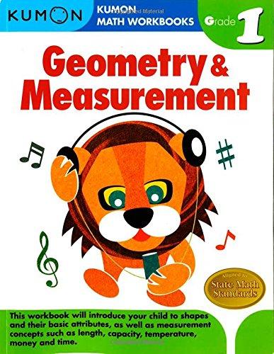 Geometry & Measurement, Grade 1 (Kumon Math Workbooks)