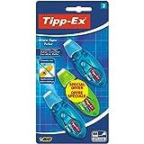 Tipp-Ex Micro Tape Twist Einweg-Korrekturroller, 3 Stück Farbe zufällig