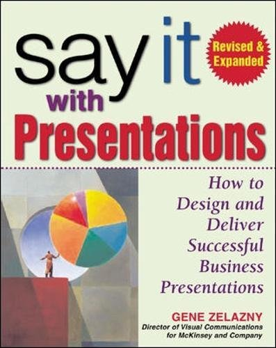Say It with Presentations, Second Edition, Revised & Expanded: How to Design and Deliver Successful Business Presentations (Marketing/Sales/Adv & Promo)