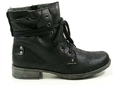 Rieker 70820-36 Chaussures - noir - Nero (nero), 42 EU EU