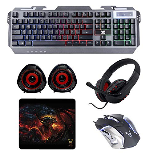 WOXTER Stinger FX 80 Megakit Pro - Kit Gaming Teclado