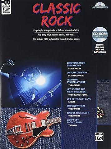 Classic Rock Guitar Play-Along: Guitar Tab, Book &
