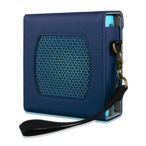 Fintie Bose SoundLink Colour Case - Protettivo Custodia Cover Borsa da Viaggio con Cintura Rimovibile per Bose SoundLink Colour Diffusore Bluetooth, Blu scuro