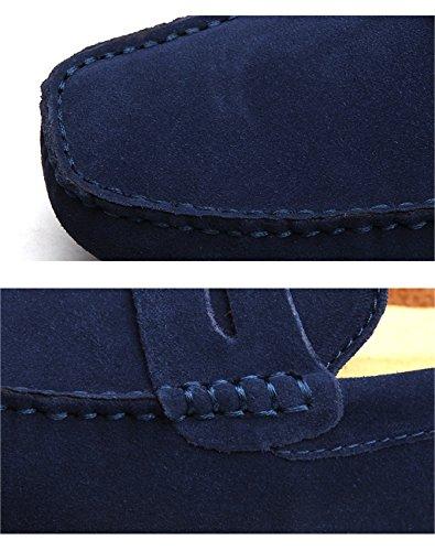 Meijili , Sandales Plateforme homme Bleu