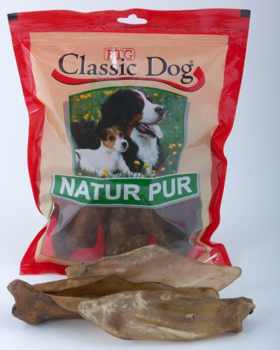Classic Trockenware Classic Hunde Snack Rinderohren 5 er